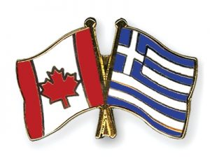 Product of Greece, Bottled and Packaged in Canada
